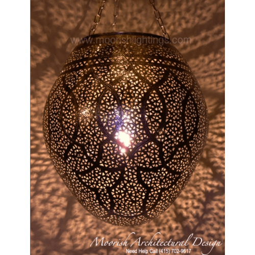 Modern Moroccan Pendant 25