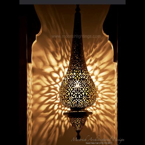 Modern Moroccan Pendant 28