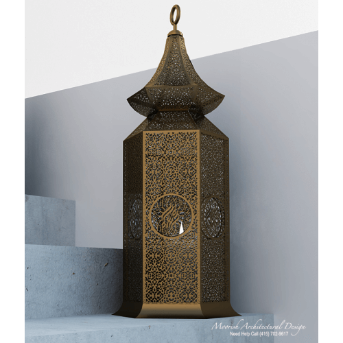 Moroccan Outdoor Light 17
