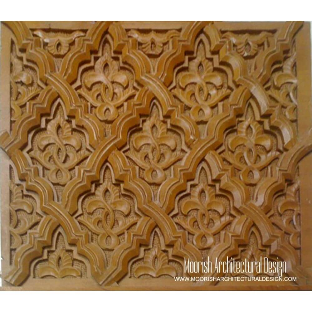 Moorish Decorative Wood Mouldings Islamic Woodwork