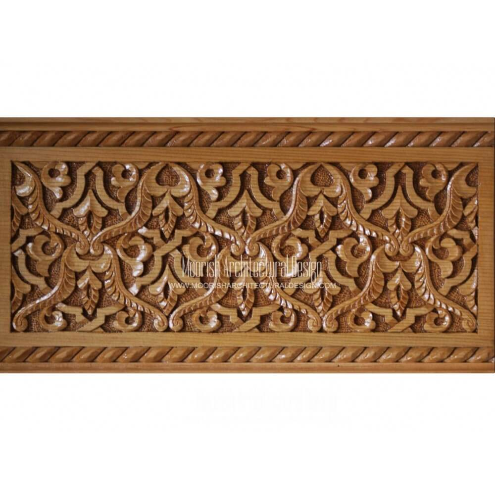 Islamic Woodwork Moroccan Wood Carving Design