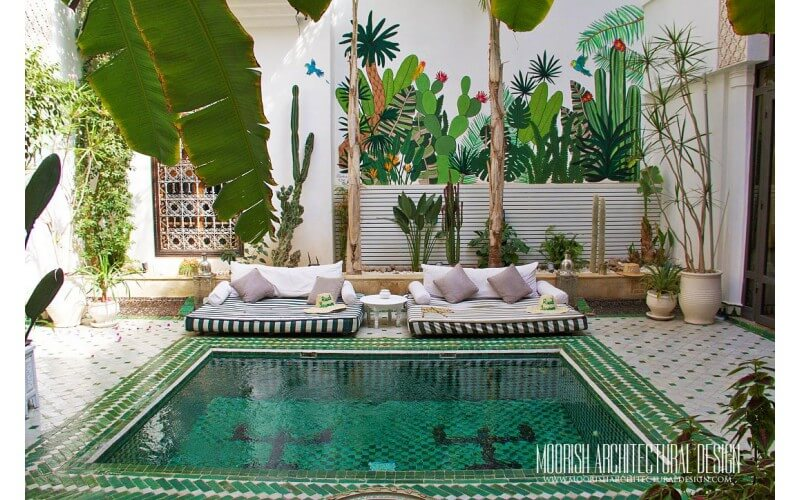 Moroccan Pool Tiles Ideas
