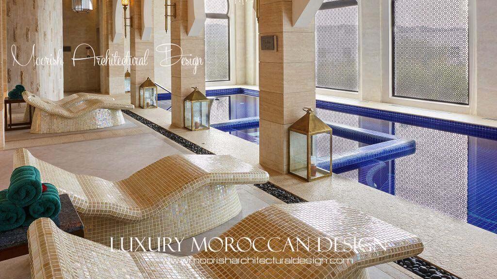 Inspiration. Moorish Spa Design